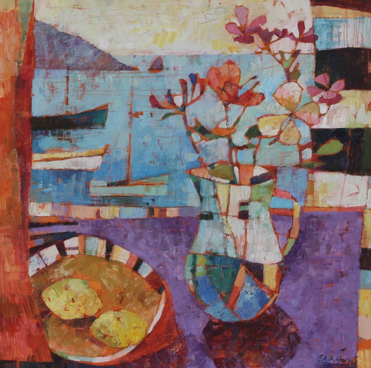 June Flowers by the Window